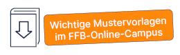 Störer für den FFB Online Campus